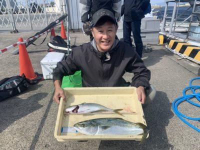 <p>奥田様 沖の北 メタルジグでツバス〜ハマチ GET^ ^ルアーではこのサイズがよく釣れてますね♪おめでとうございます(^o^)</p>