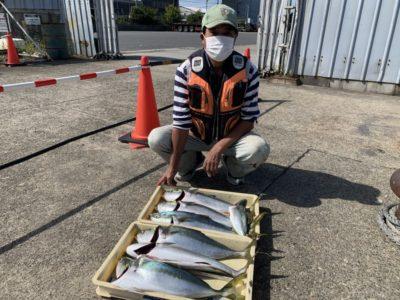 <p>前田様 沖の北 のませ釣りでハマチ〜メジロ計7本GET^ ^前田様、流石の釣果です!</p>