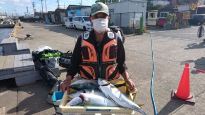 <p>前田様 沖の北 飲ませ メジロサイズGET</p><p>飲ませは安定の釣果がだせます(^^)/</p>