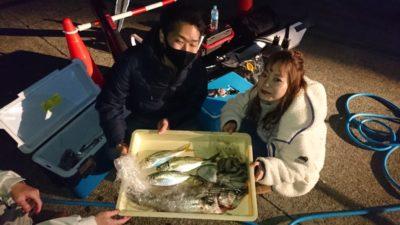 <p>戸谷様 沖の北 五目釣り アジ・タコ・ハネGET</p><p>年内いっぱいは色々な魚種が狙えそうですね!</p>